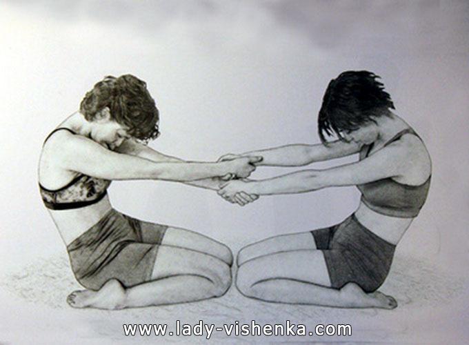 Йога для двоих - Два героя