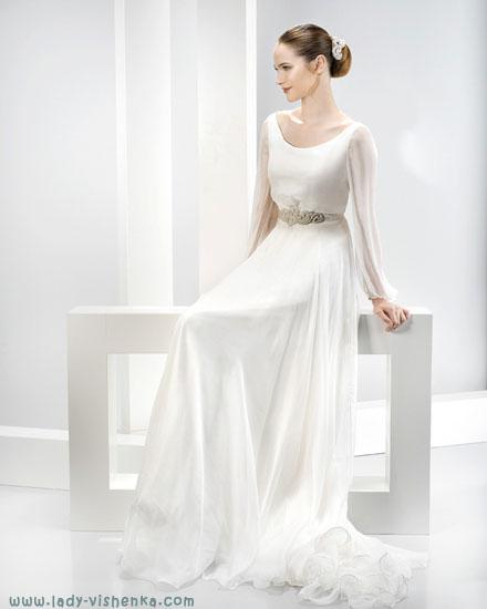 Длинные свадебные платья Jesus Peiro