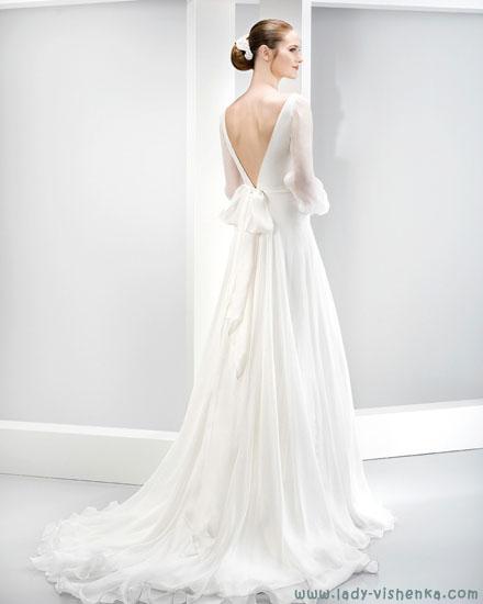 Свадебные платья - спина Jesus Peiro
