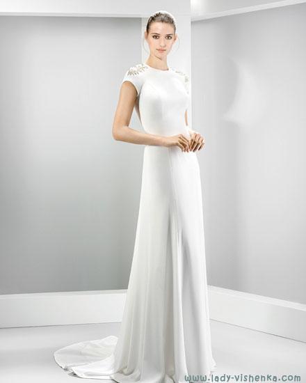 Простые свадебные платья Jesus Peiro