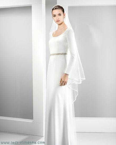 Скромное свадебное платье Jesus Peiro