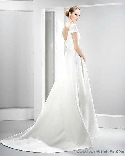 Длинные свадебные платья фото Jesus Peiro