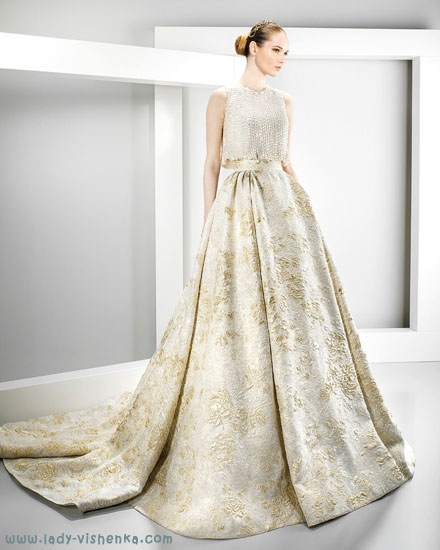 Айвори - свадебное платье Jesus Peiro