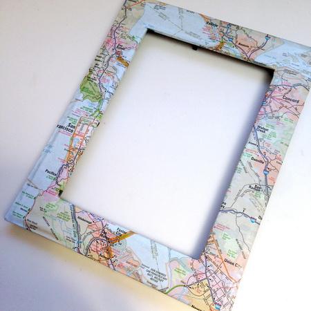 украсить рамку для фото своими руками