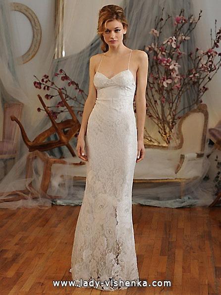 Свадебные платья с кружевом 2016