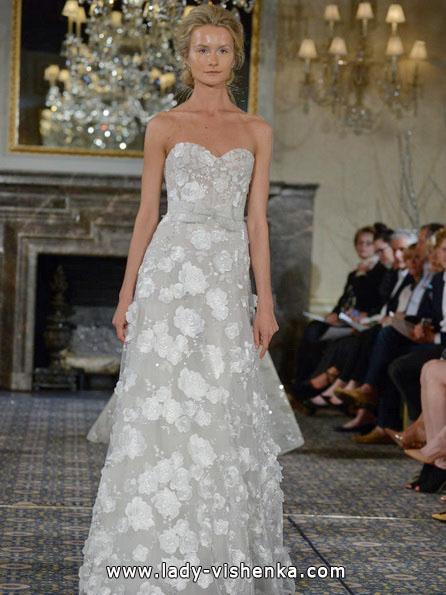 Свадебные платья с кружевом 2016 - Mira Zwillinger