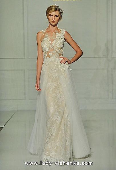Кружевные свадебные платья 2016 - Pronovias