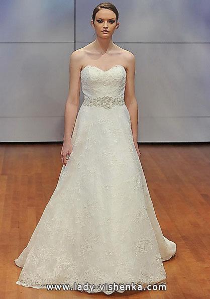 Длинное кружевное свадебное платье 2016 - Rita Vinieris