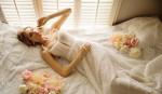 Кружевное свадебное платье - миниатюра