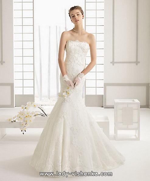 Кружевное свадебное платье - рыбка - Aire Barcelona