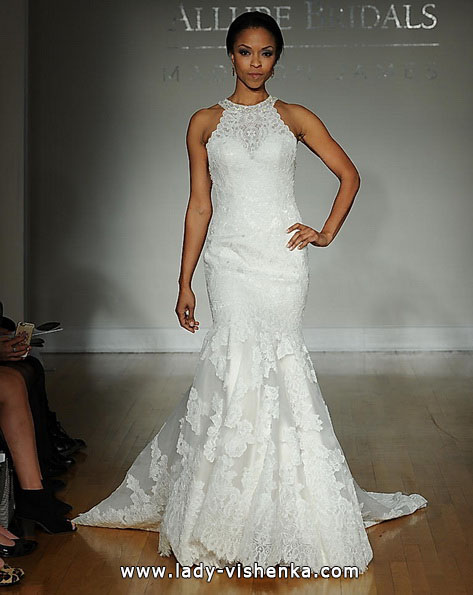 Кружевное свадебное платье - рыбка - Allure