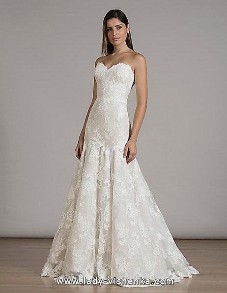 Кружевное свадебное платье - рыбка - Liancarlo