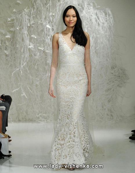 Кружевное свадебное платье - рыбка - Watters