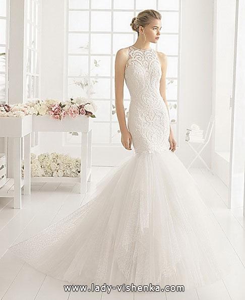 Кружевное свадебное платье - рыбий хвост - Aire Barcelona