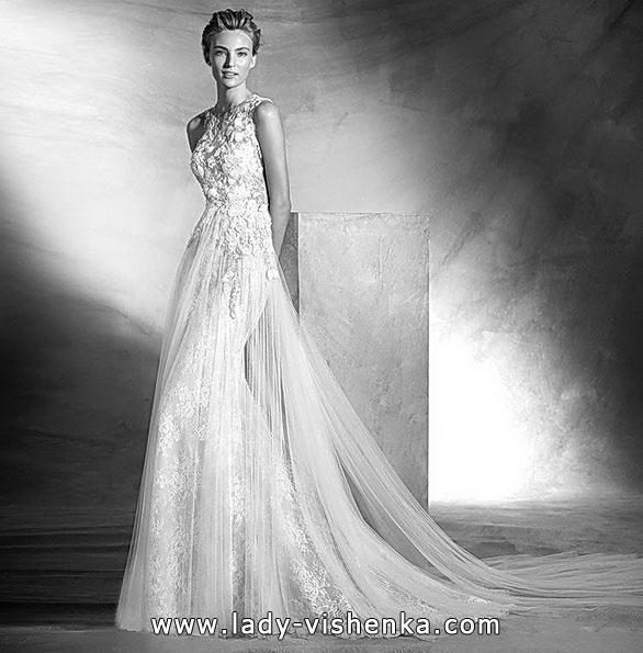 Красивое свадебное платье русалочка - фото - Pronovias