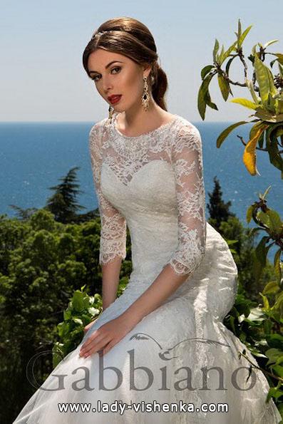 Верх кружевного свадебного платья - Gabbiano
