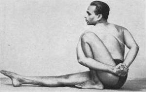 Поза йоги - Маричиасана III