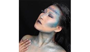 Как делать макияж русалочки на Хэллоуин + видео