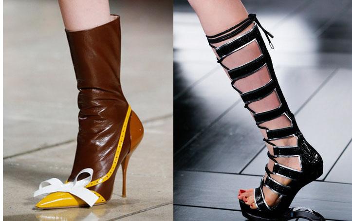 Модная обувь весна лето 2015