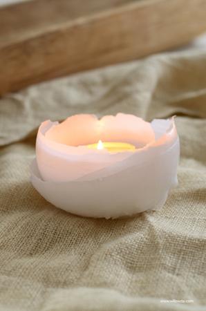 Оформление свечей своими руками