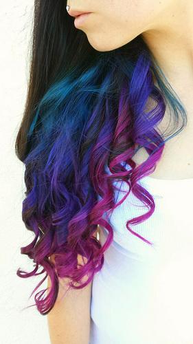 Цвет волос - игра цветов