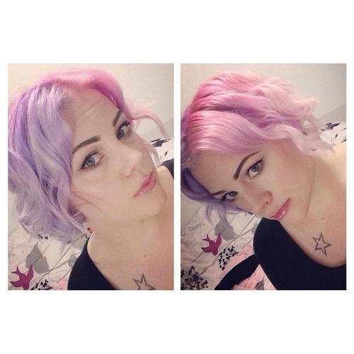 Цвет волос - единороги обзавидуются