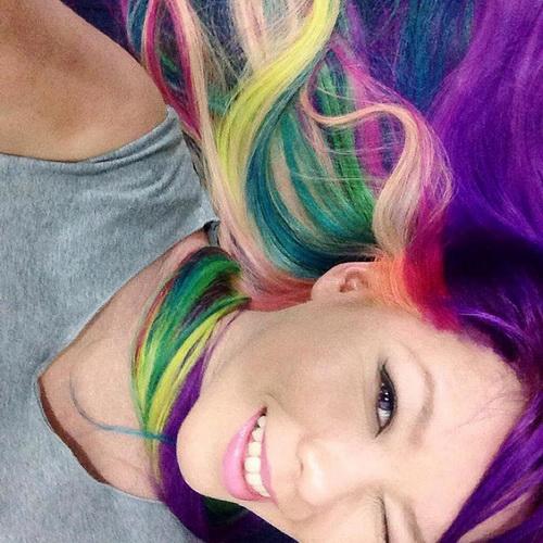 Оригинальный цвет волос - палитра красок