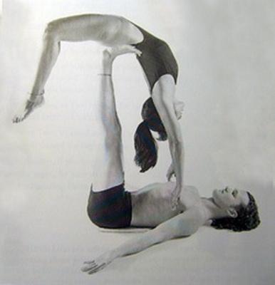 Описание позы йоги для двоих