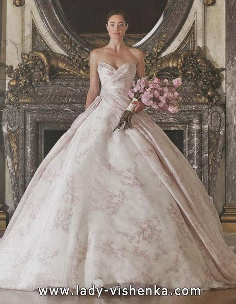 Розовое свадебное платье 2016 - Romona Keveza