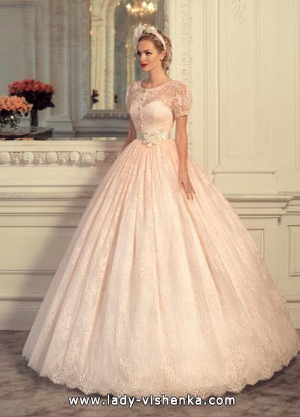 Розовое свадебное платье 2016 - Tatiana Kaplun