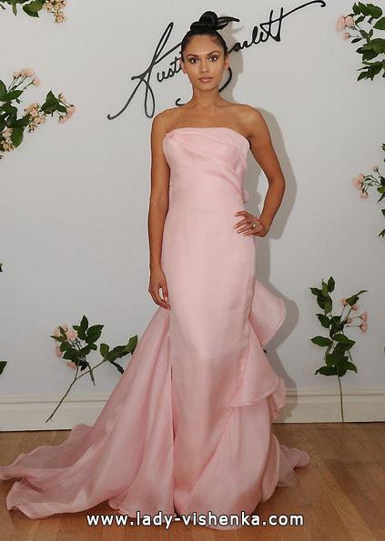 Свадебное платье розового цвета - Austin Scarlett