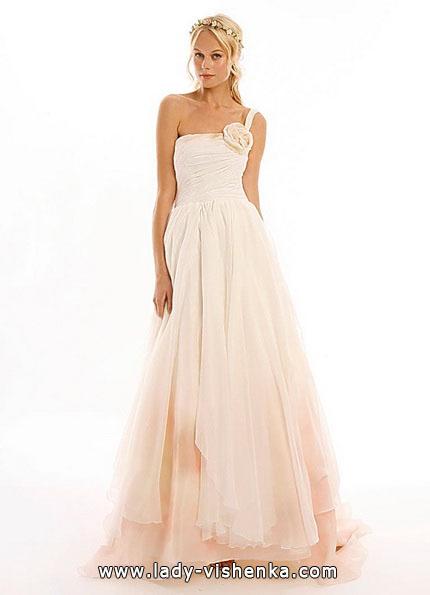 Розовое свадебное платье - Eugenia Couture