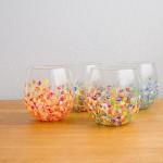 Подарок своими руками — изящные стаканы