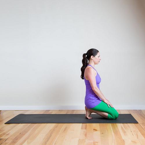 Упражнение для ступней ног
