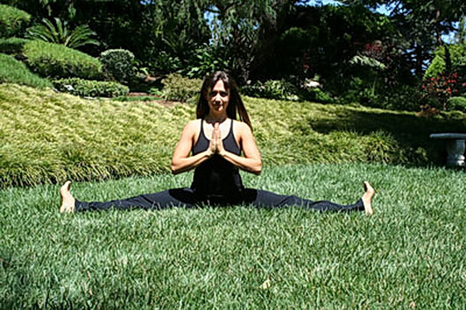 Сидящая поза йоги
