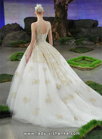 Свадебное платье принцессы со шлейфом - Ines Di Santo