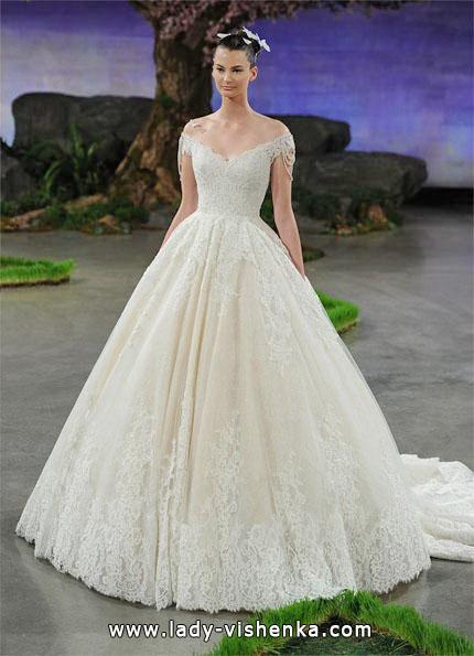 Свадебное платье в стиле принцесса - Ines Di Santo