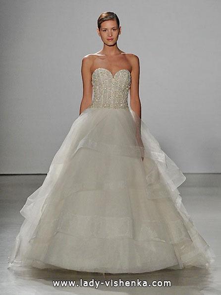 Свадебное платье принцессы 2016 - Kenneth Pool