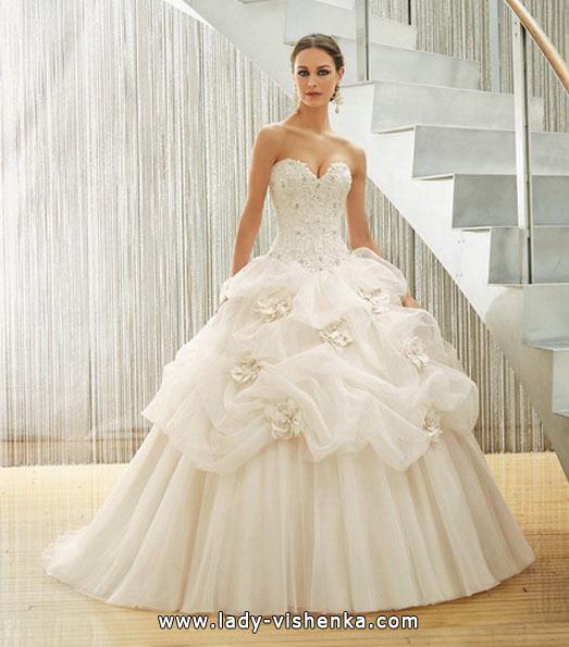Свадебное платье принцессы 2016 - MGNY