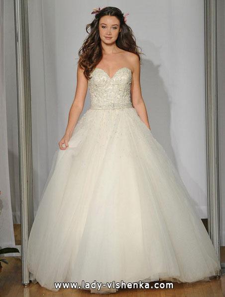 Свадебное платье принцессы 2016 - Mori Lee