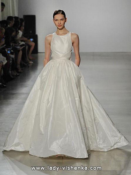 Свадебное платье как у принцессы - Amsale