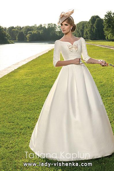 Свадебное платье принцессы с рукавами - Tatiana Kaplun