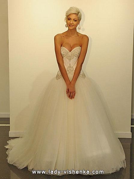 Свадебное платье принцессы 2016 - Victor Harper