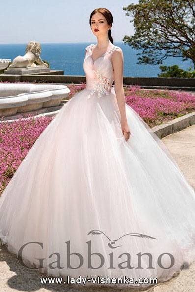 Пышное свадебное платье принцессы - Gabbiano