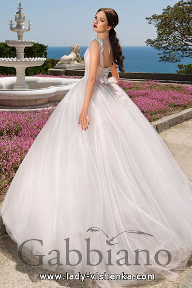 Свадебное платье принцессы - Gabbiano
