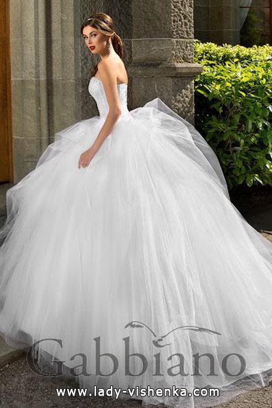 Красивое свадебное платье принцессы - Gabbiano