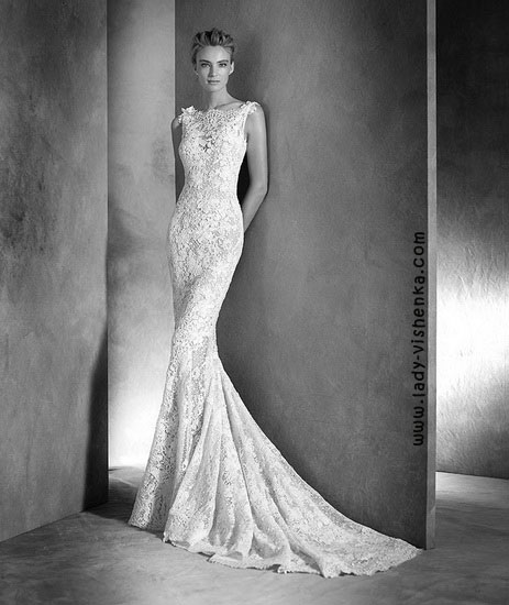 Кружевные свадебные платья Pronovias