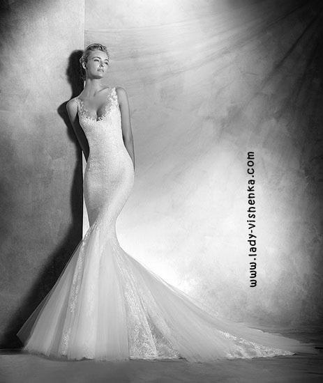 Свадебное платье рыбка Pronovias
