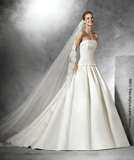 Свадебное платье принцессы Pronovias