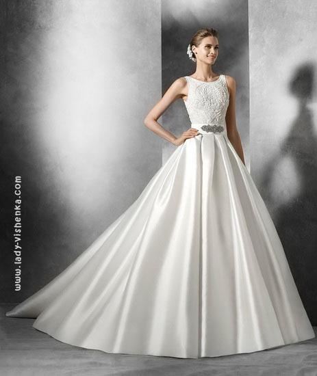 Свадебные платья пышные со шлейфом 2016 Pronovias
